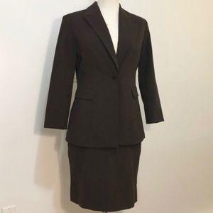 Minimalist Skirt Suit Set